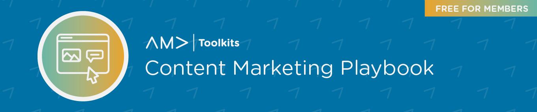 AMA Content Marketing Playbook